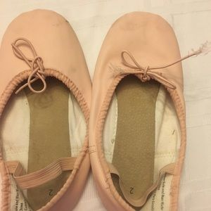 Girl's ballet shoes size 12